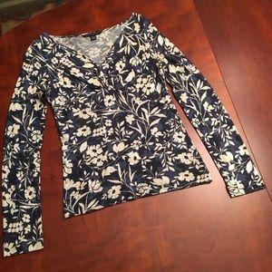 Banana Republic v-neck blouse